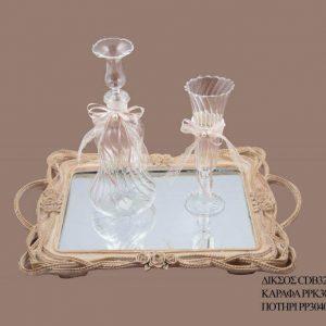 Σετ γάμου καράφα ποτήρι PPK3061095
