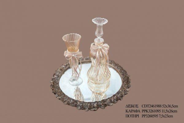 Σετ γάμου καράφα ποτήρι PPK3261095