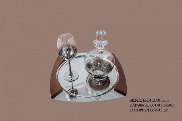 Σετ γάμου καράφα ποτήρι SK1331780