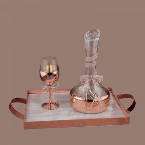 Σετ γάμου καράφα ποτήρι SK1641788
