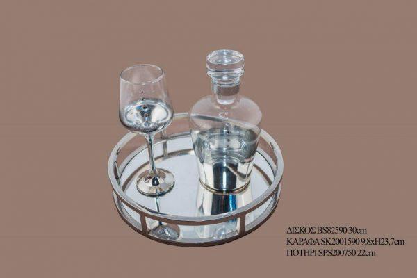 Σετ γάμου καράφα ποτήρι SK2001590