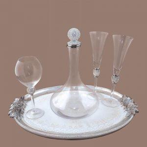 Σετ γάμου καράφα ποτήρι SK2311588B