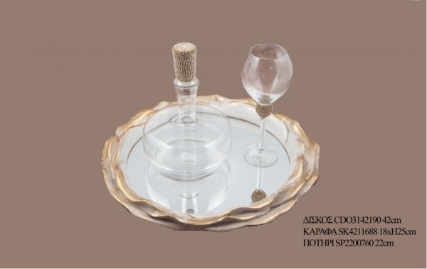 Σετ γάμου καράφα ποτήρι SK4211688