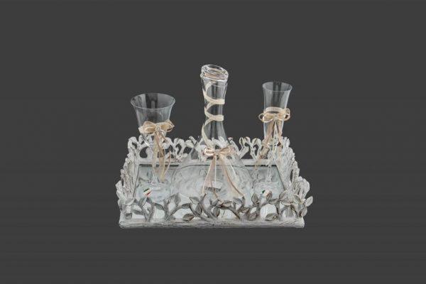 Σετ γάμου καράφα ποτήρι CK2081590-CP2080650
