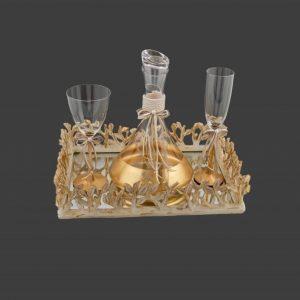 Σετ γάμου καράφα ποτήρι CK2481680-CP2480760