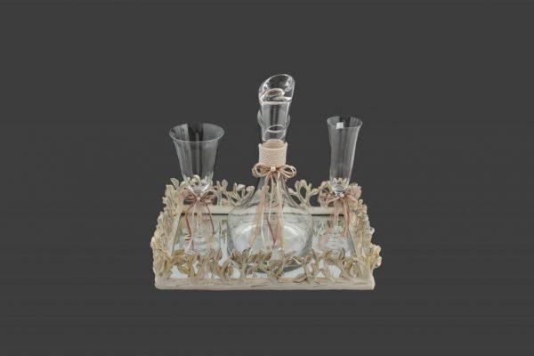Σετ γάμου καράφα ποτήρι SK1011398-SP1010680