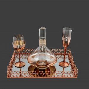 Σετ γάμου καράφα ποτήρι SK1651699-SP1650799