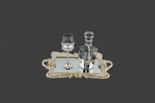 Σετ γάμου καράφα ποτήρι SK2001690-SP200760