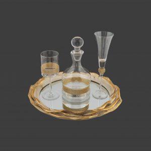 Σετ γάμου καράφα ποτήρι SK2541690-SP1540690