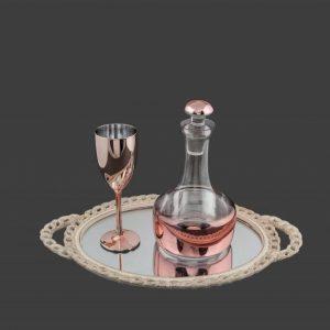 Σετ γάμου καράφα ποτήρι SK261980-SP240790