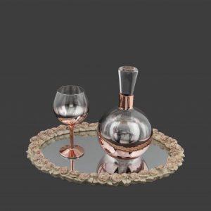 Σετ γάμου καράφα ποτήρι SK271960-SP250730