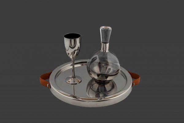 Σετ γάμου καράφα ποτήρι SK371980-SP340790Β