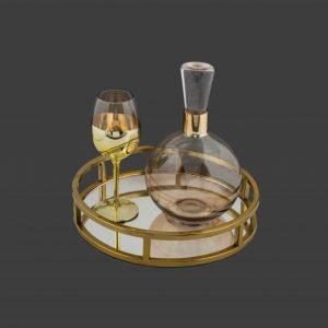 Σετ γάμου καράφα ποτήρι SK471960-SP2440680B