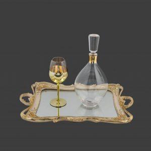 Σετ γάμου καράφα ποτήρι SK481960-SP2440680