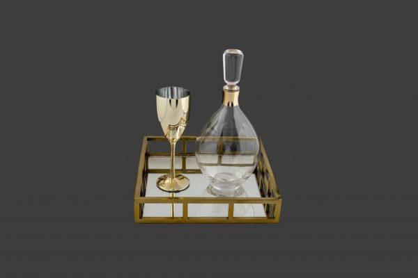 Σετ γάμου καράφα ποτήρι SK481960-SP440790