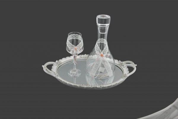 Σετ γάμου καράφα ποτήρι SK6181590-SP6180650