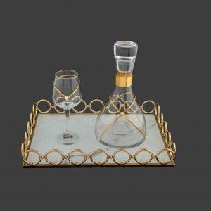 Σετ γάμου καράφα ποτήρι SK6181680-SP6180660