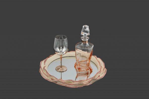 Σετ γάμου καράφα ποτήρι SK7121980-SP8120680B