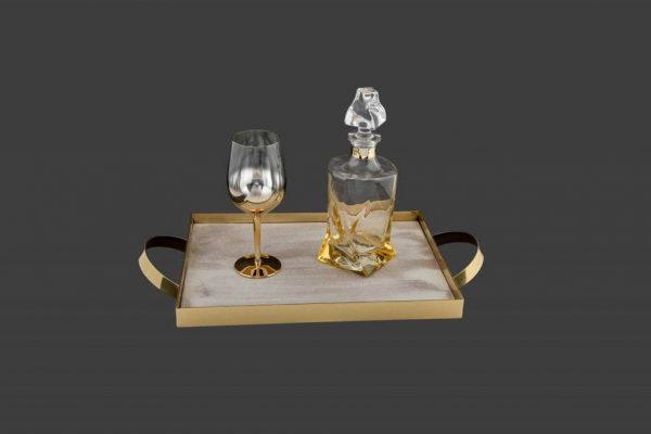 Σετ γάμου καράφα ποτήρι SK7141980-SP8140680